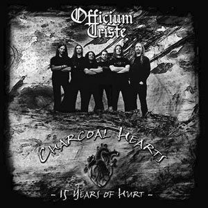 Officium Triste - Charcoal Hearts - 15 Years of Hurt cover art