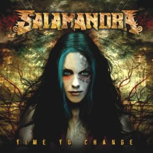 Salamandra - Time to Change cover art