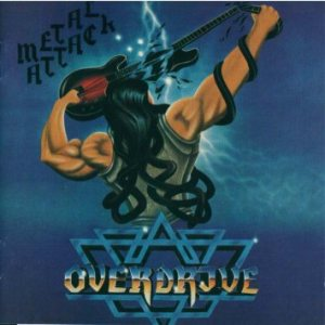 Overdrive - Metal Attack cover art