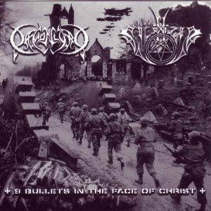 Daemonlord - 9 Bullets in the Face of Christ cover art