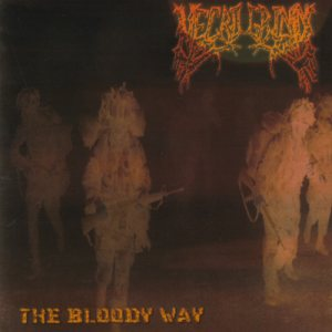Necrogrind - The Bloody Way cover art