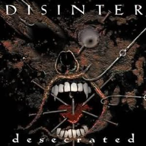 Disinter - Desecrated cover art