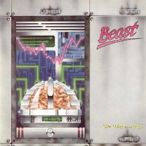 Beast - Like Living in a Cage cover art