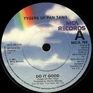 Tygers Of Pan Tang - Do It Good cover art
