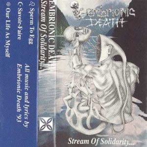 Embrionic Death - Stream of Solidarity cover art