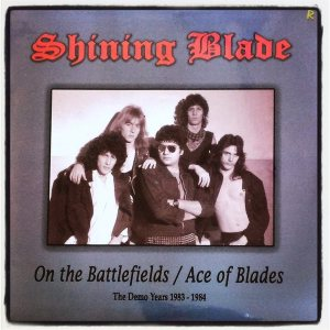Shining Blade - The Demo Years 1983 - 1984 cover art