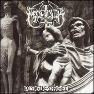 Marduk - Plague Angel cover art