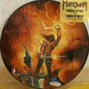 Manowar - Wheels of Fire cover art