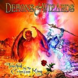 Demons & Wizards - Touched By the Crimson King cover art