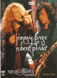 Jimmy Page / Robert Plant - No Quarter: Unledded cover art