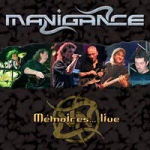 Manigance - Memoires... Live cover art