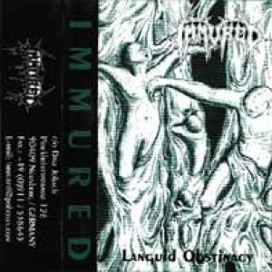 Immured - Languid Obstinacy cover art