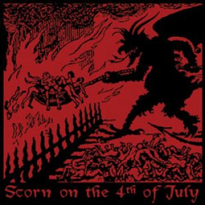 Nunslaughter / Soulless - Scorn on the 4th of July cover art