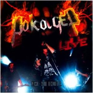 Pokolgép - Live cover art