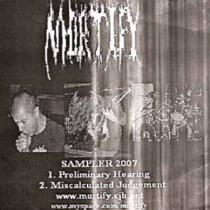 Mortify - Sampler 2007 cover art