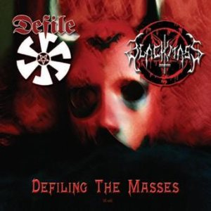 Defile / Black Mass - Defiling the Masses cover art