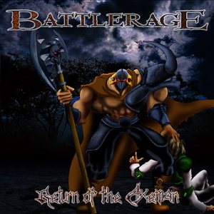 Battlerage - Return of the Axeman cover art