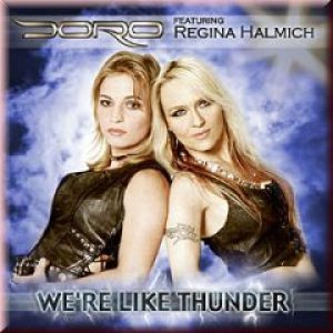 Doro - We're Like Thunder cover art
