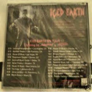 Iced Earth - Frankenstein / Ghost of Freedom cover art