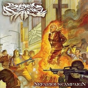 Burning at the Stake - Nefarious Campaign cover art