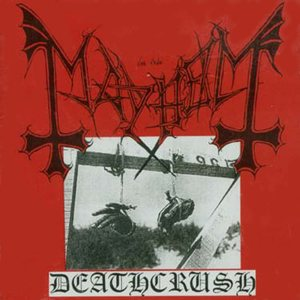 Mayhem - Deathcrush cover art