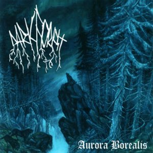 Dark Forest - Aurora Borealis cover art