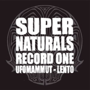 Ufomammut / Lento - Supernaturals: Record One cover art