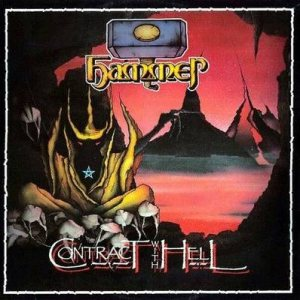 Hammer - Contract With Hell cover art