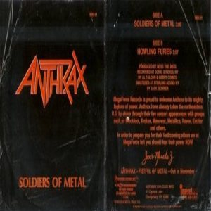 Anthrax - Soldiers of Metal cover art