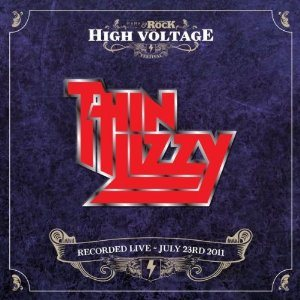 Thin Lizzy - Live at High Voltage cover art