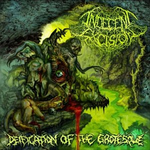 Indecent Excision - Deification of the Grotesque cover art