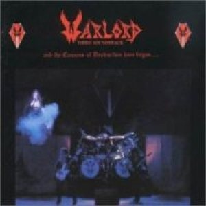 Warlord - And the Cannons of cover art