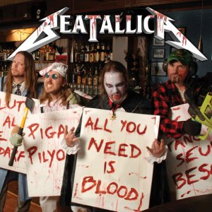 Beatallica - All You Need Is Blood cover art