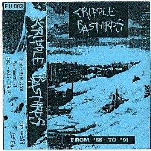 Cripple Bastards - From '88 to '91 cover art