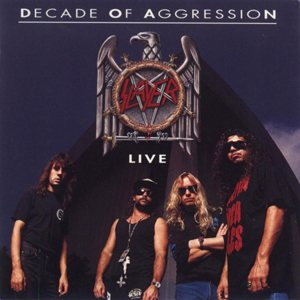 Slayer - Decade of Aggression cover art