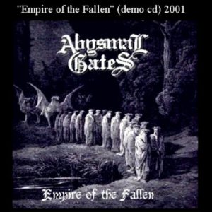 Abysmal Gates - Empire of the fallen cover art
