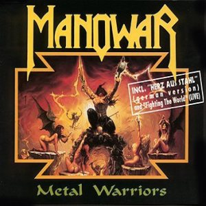 Manowar - Metal Warriors cover art