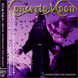 Concerto Moon - Destruction and Creation cover art
