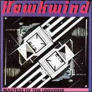 Hawkwind - Masters of the Universe cover art