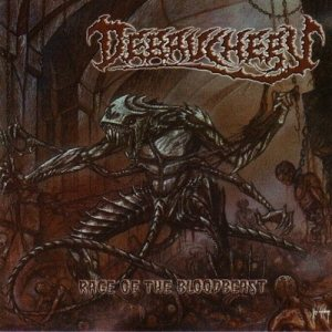 Debauchery - Rage of the Bloodbeast cover art