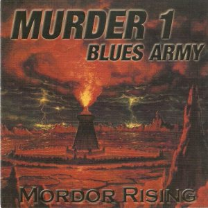 Murder 1 Blues Army - Mordor Rising cover art