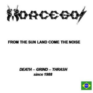 Morcegos - From the Sun Land Come the Noise cover art