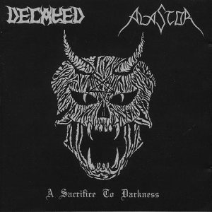 Decayed - A Sacrifice to Darkness cover art