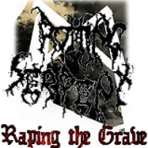 Rotting Serpent - Raping the Grave cover art
