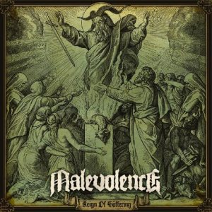 Malevolence - Reign of Suffering cover art