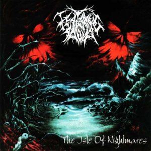 Festering Saliva - The Isle of Nightmares cover art