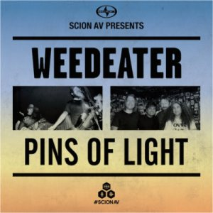 Weedeater - Weedeater / Pins of Light cover art