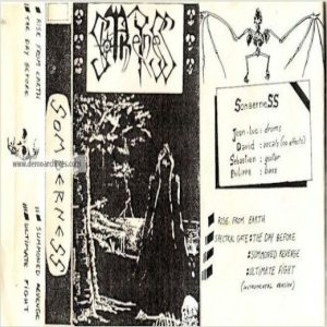 Somberness - Demo 1991 cover art