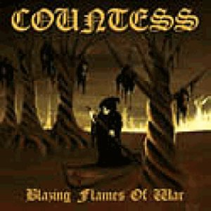 Countess - Blazing Flames of War cover art