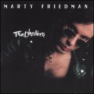 Marty Friedman - True Obsessions cover art